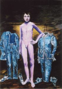 Blue Boy Oil 48x36
